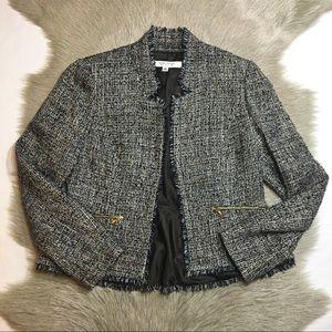 {3/$25} nine west • tweed blazer
